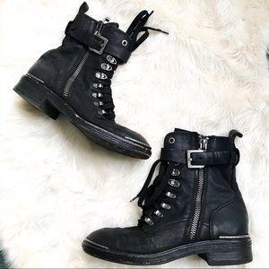 Dolce Vita | Avalon black combat boots